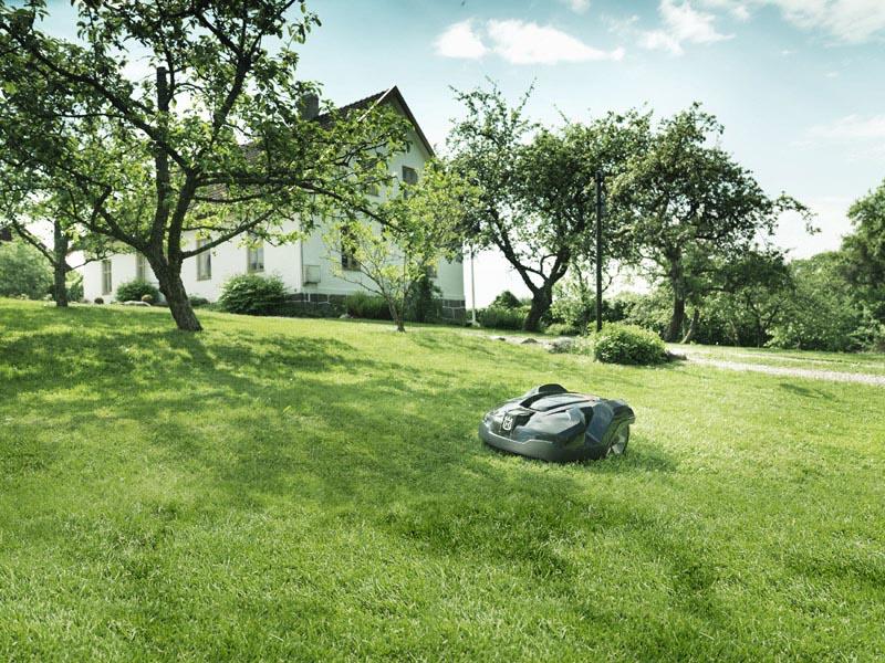 Mähroboter Installationsservice und kostenloser Garten-Check. Beratung - Installation - Service