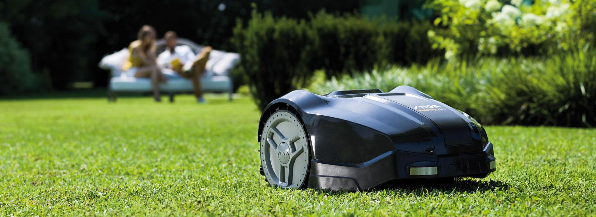 Stiga Autoclip Roboter